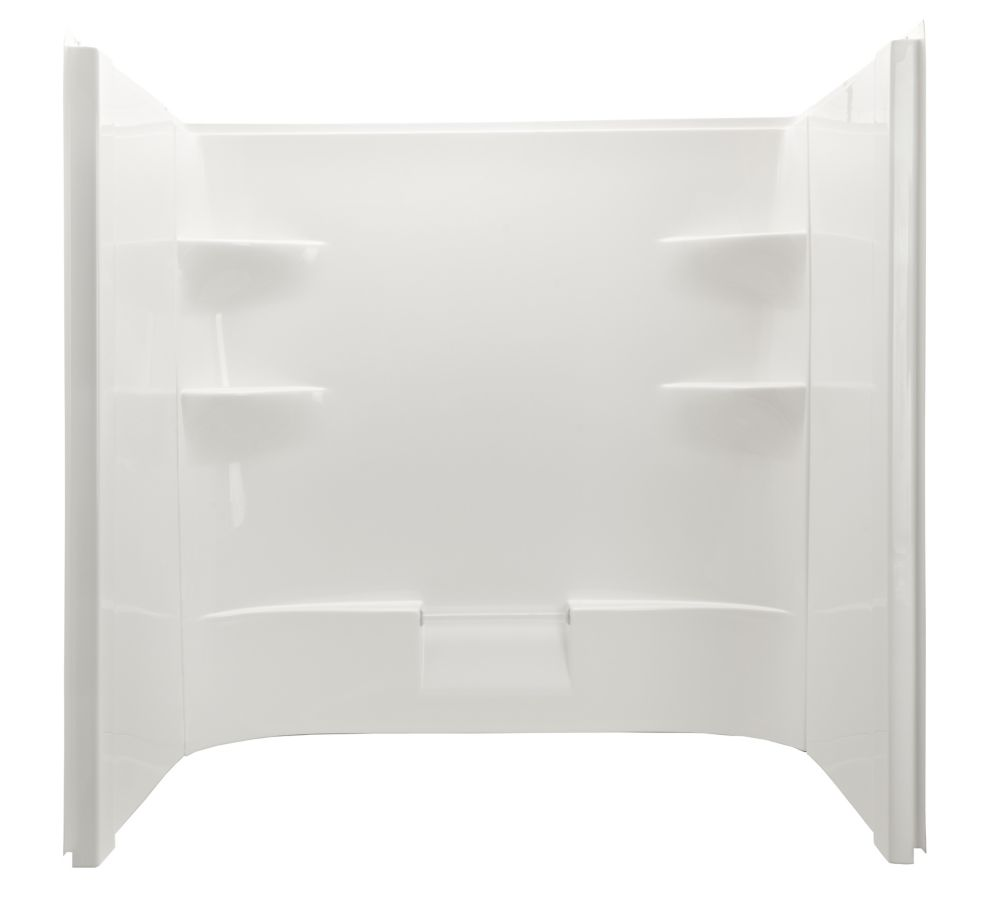 Belaire Acrylic Dome Less Shower Walls - Includes One Back And Two Side Acrylic Walls (Should be ...