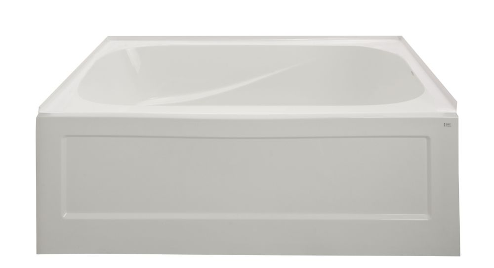 Belaire Acrylic Soaker Bathing Well Section - Right Hand (Should be purchased with BA604W)