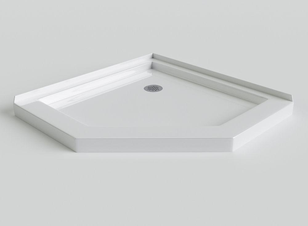 Sorrento 38 Inch Acrylic Neo Angle Shower Base