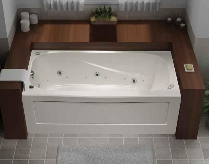Tuscon 5 Feet Acrylic Whirlpool Bathtub