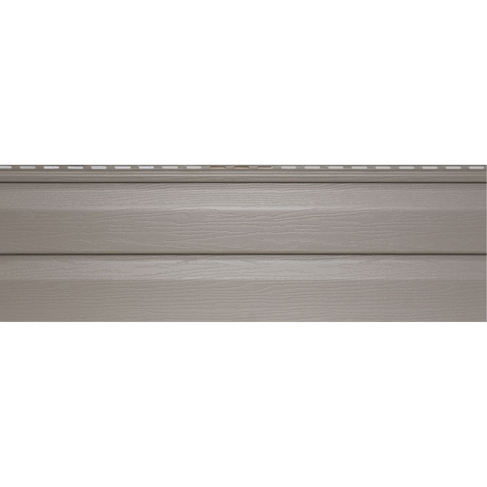 Abtco cedar creek d5d khaki the home depot canada for Cedar creek siding reviews