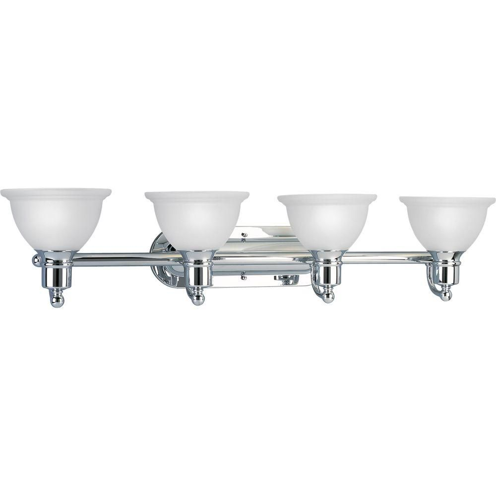 Madison Collection Four-Light Wall Bracket in Polished Chrome