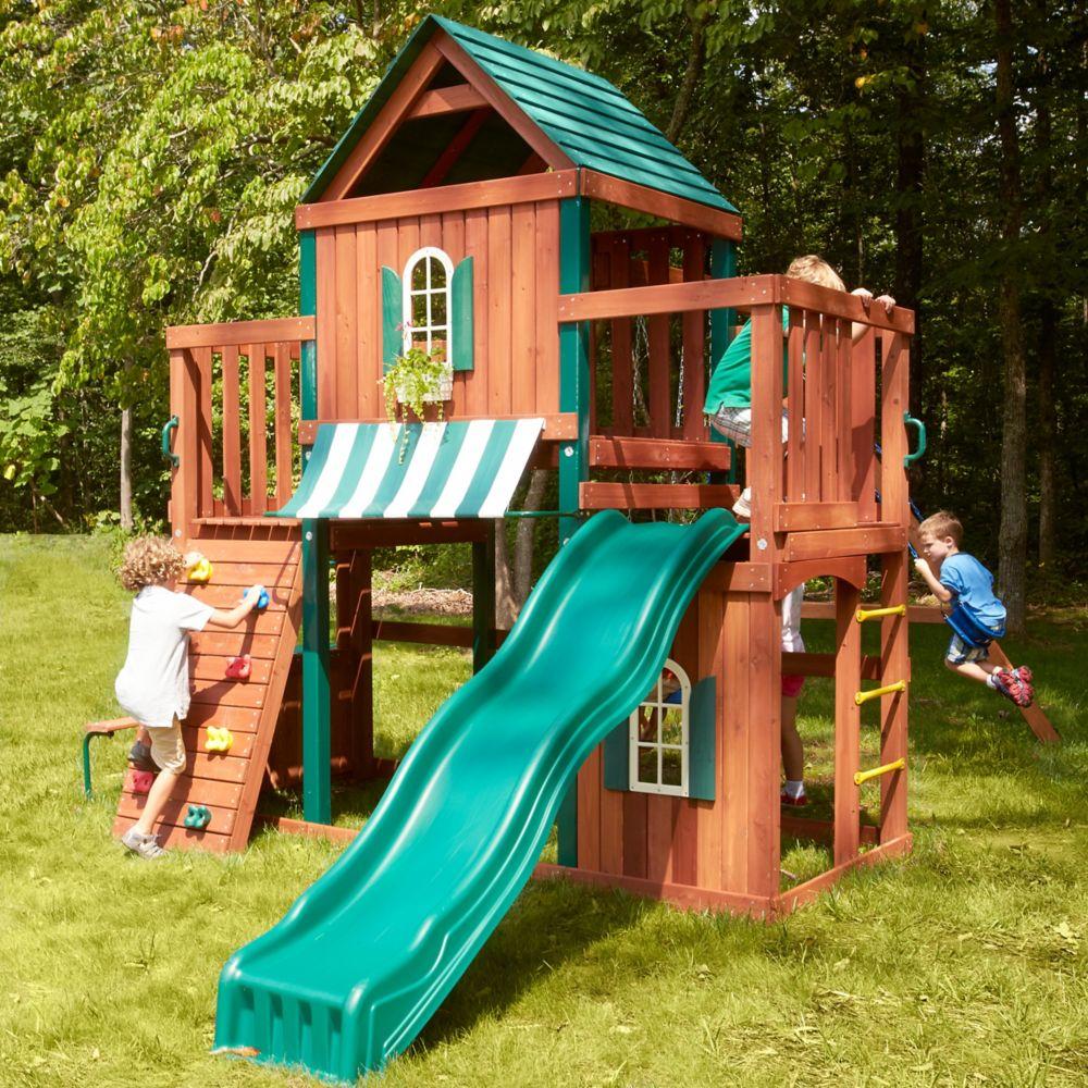 Structure de jeu en bois complète Winchester