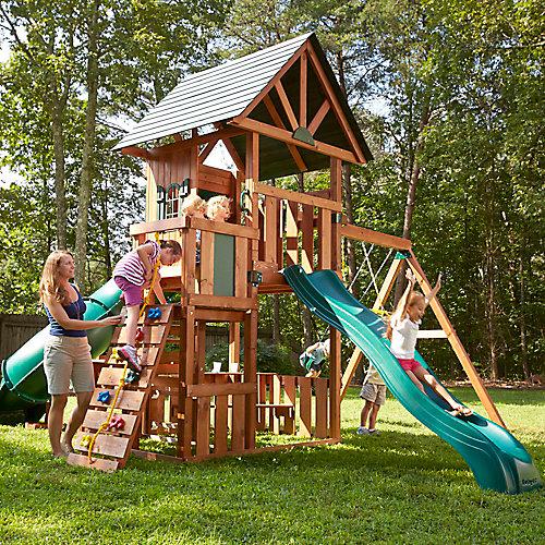 Structure de jeu en bois complète Southampton