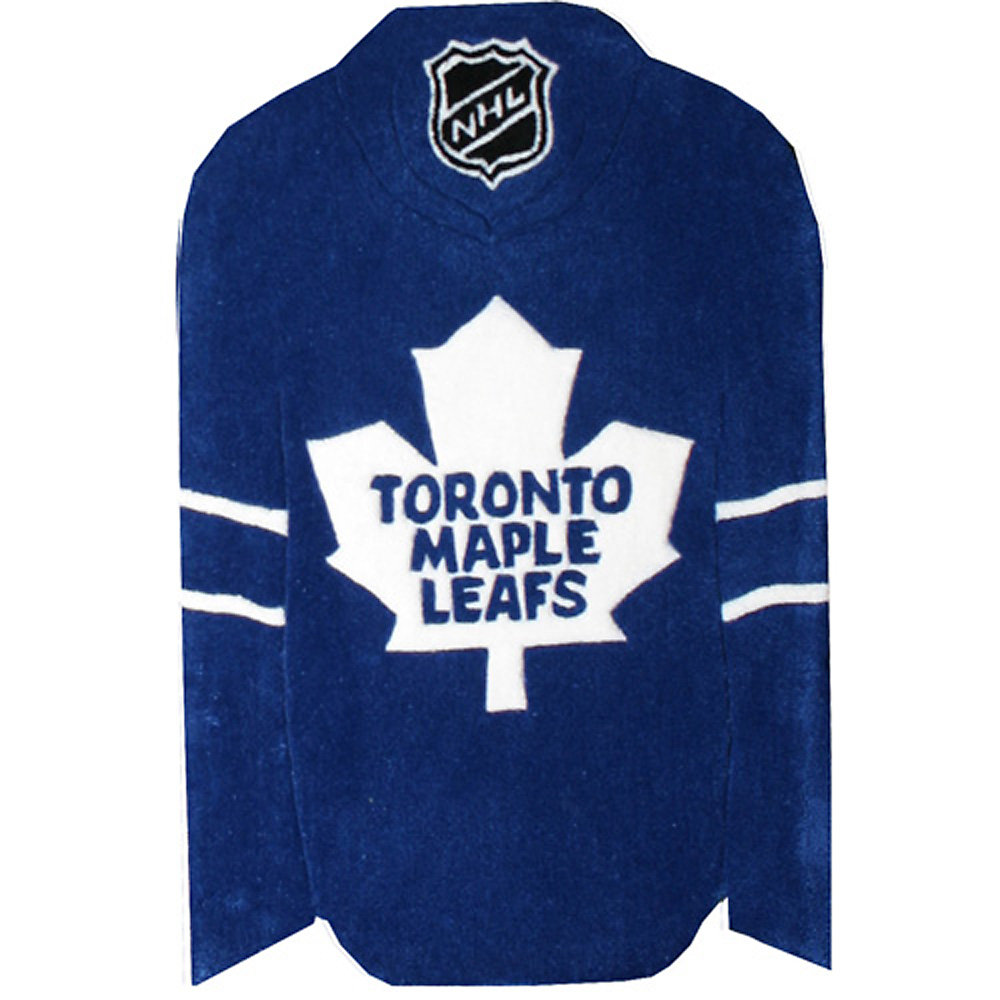 big sale 86507 39a6f Toronto Maple Leafs Blue 2 ft. x 3 ft. Indoor Irregular Kids Area Rug