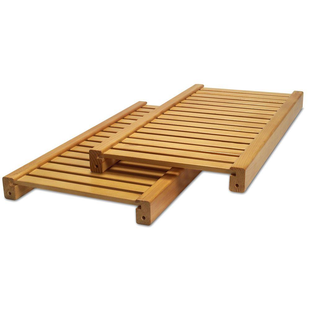 Standard Adjustable Shelves Kit - Honey Maple