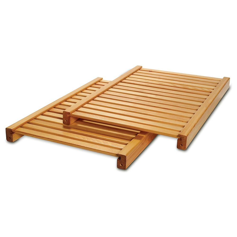 Deluxe Adjustable Shelves Kit - Honey Maple