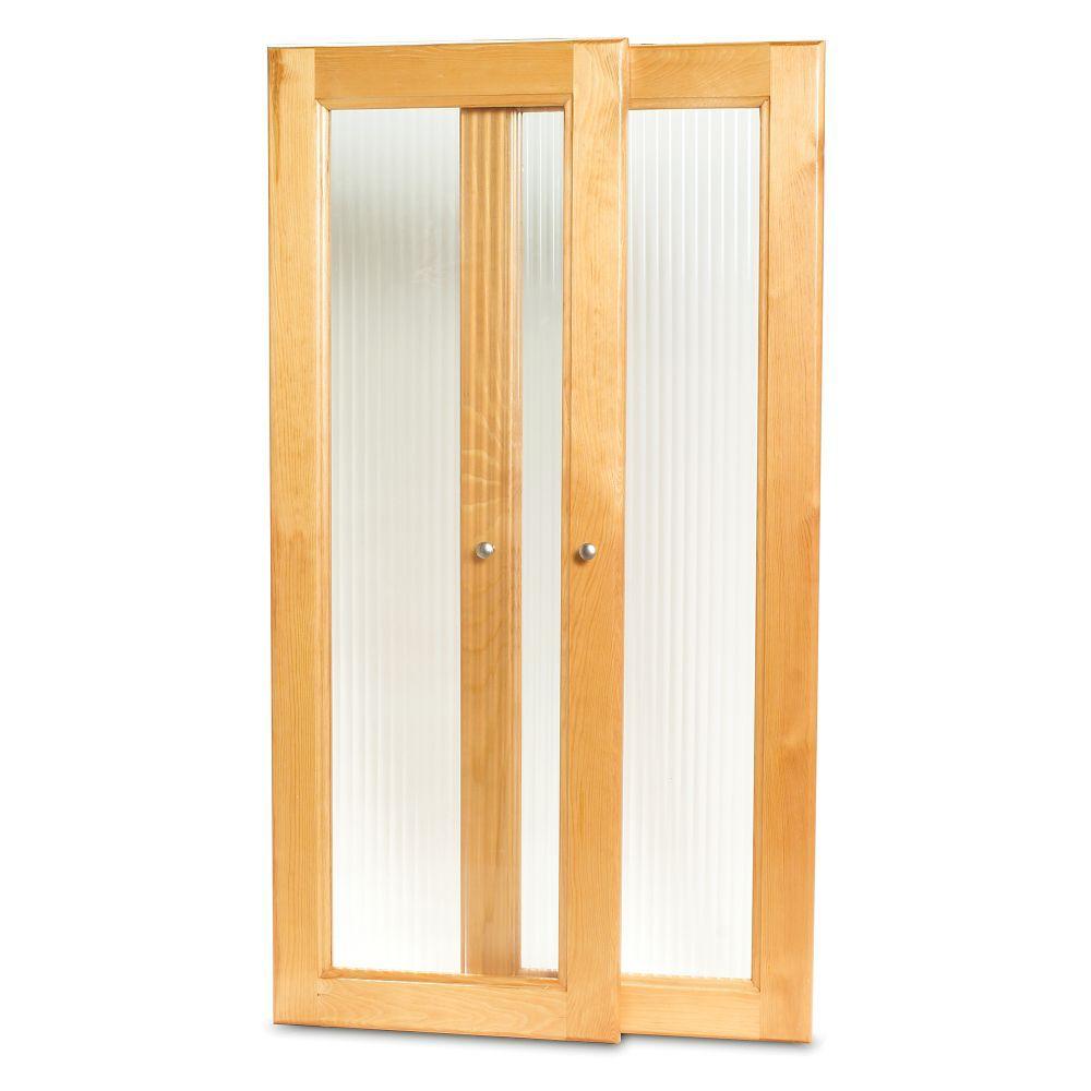 Deluxe Tower Door Kit- Honey Maple