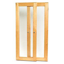 John Louis Home Deluxe Tower Door Kit- Honey Maple