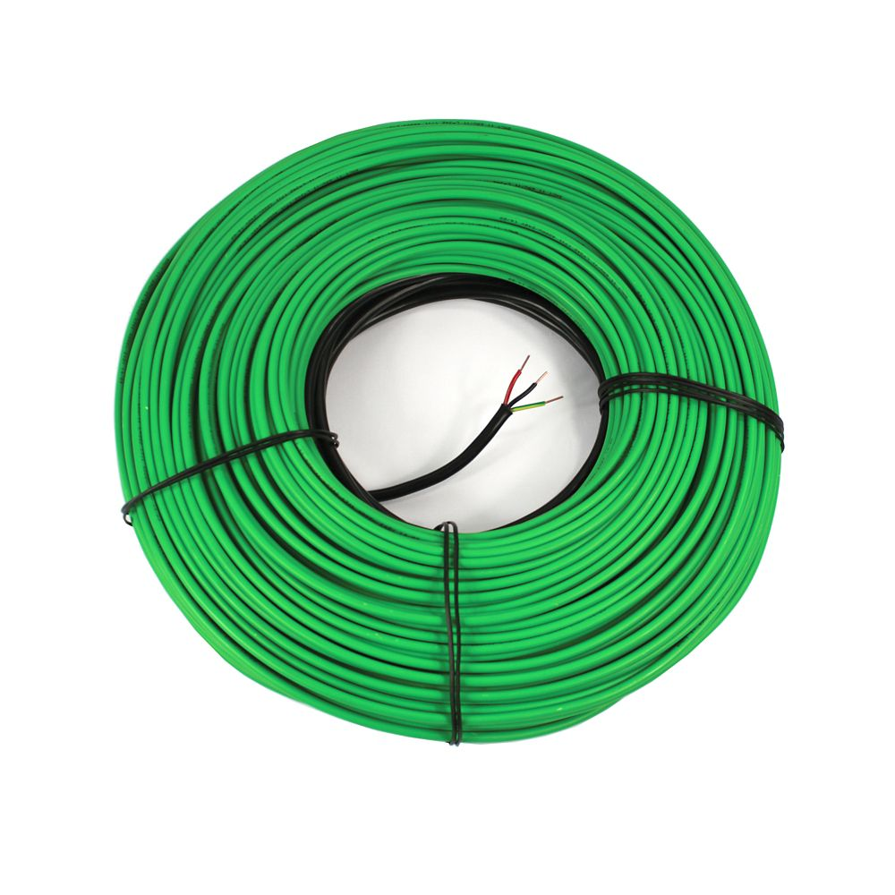 Watt Meter Home Depot Canada: WarmlyYours 120V Snow Melting Cable For 47 Sq. Ft.