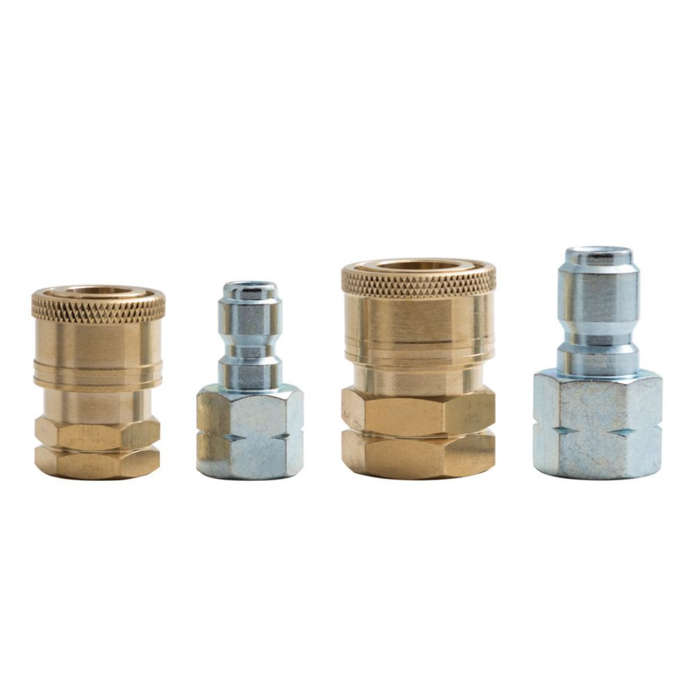 "3/8"" & 1/4"" Quick Connect Fittings Kit"