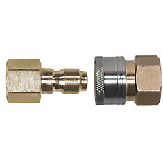 3/8-inch Quick Connect Fittings Kit for Pressure Washers