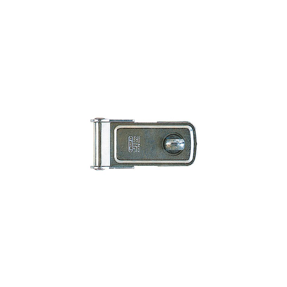 STANLEY 4-1/2 In. Zinc Plated(2c) Rotating Post Safety Hasp