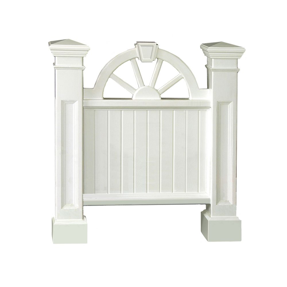 Winchester Address Sign in White