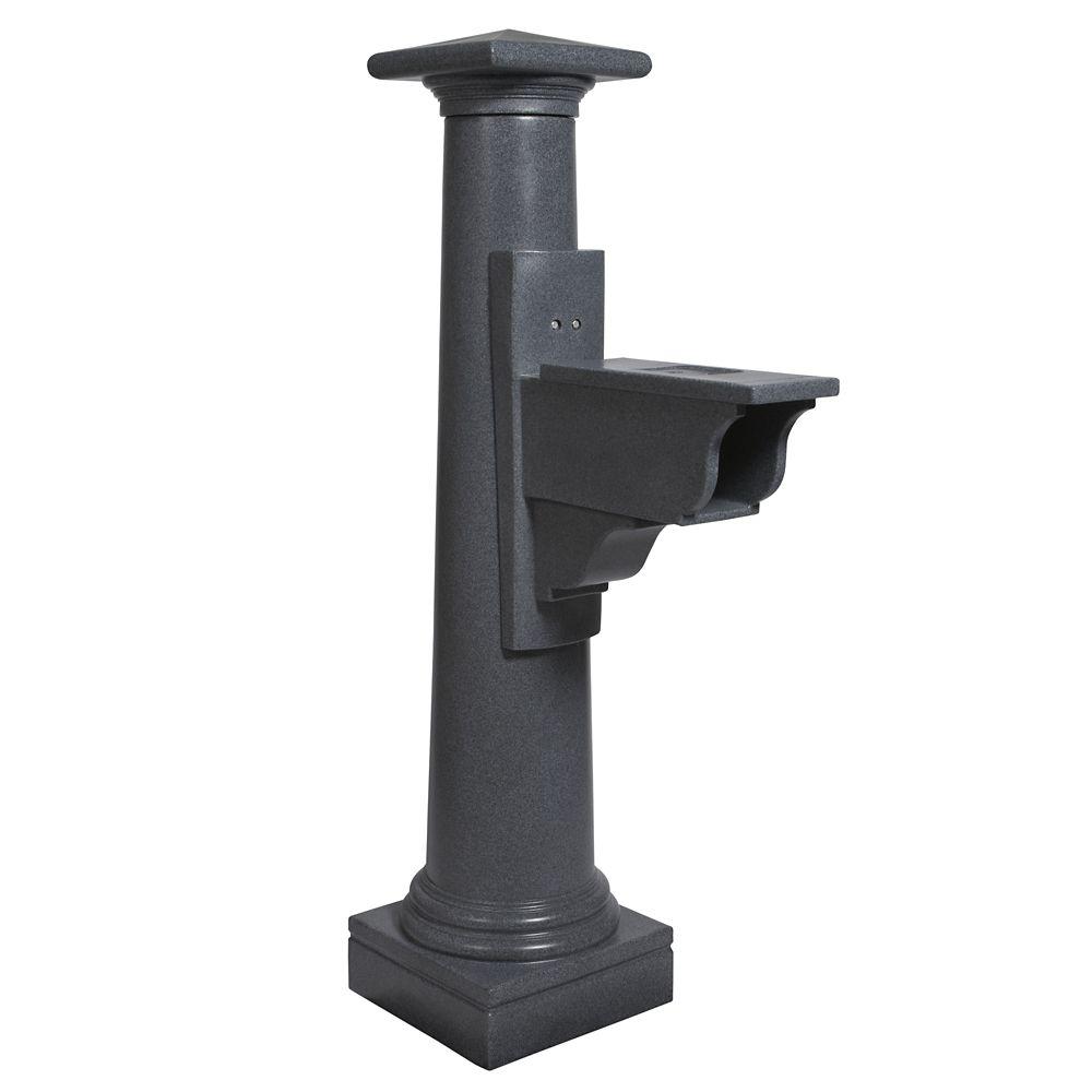 Poteau de boîte aux lettres Statesville (granite)