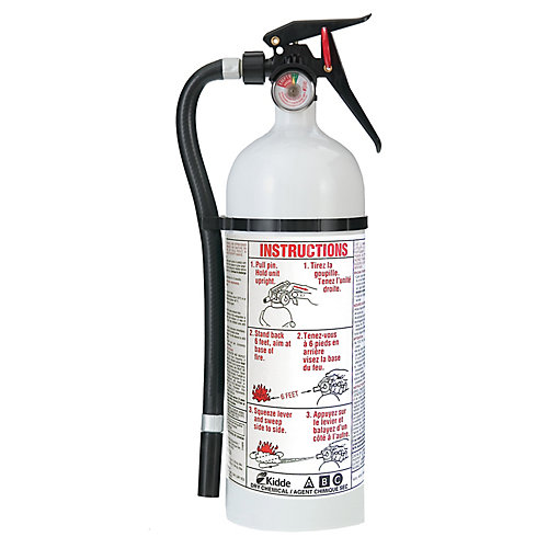 Home Series White Fire Extinguisher