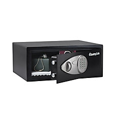 Electronic Security Safe with Override Key, 0.7 cu.ft.