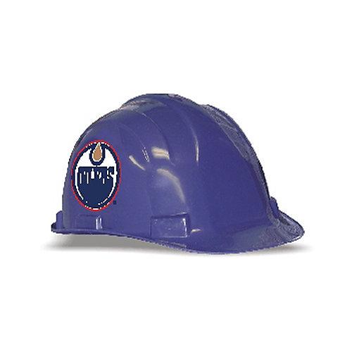 NHL ANSI Hard Hat with Team Logo - Edmonton