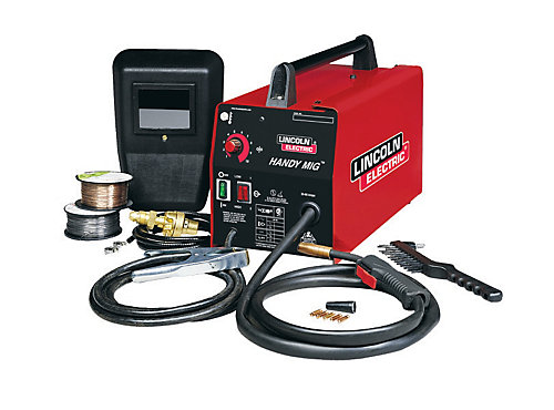 Lincoln Electric Handy MIG Wire Feed Welder | The Home Depot Canada