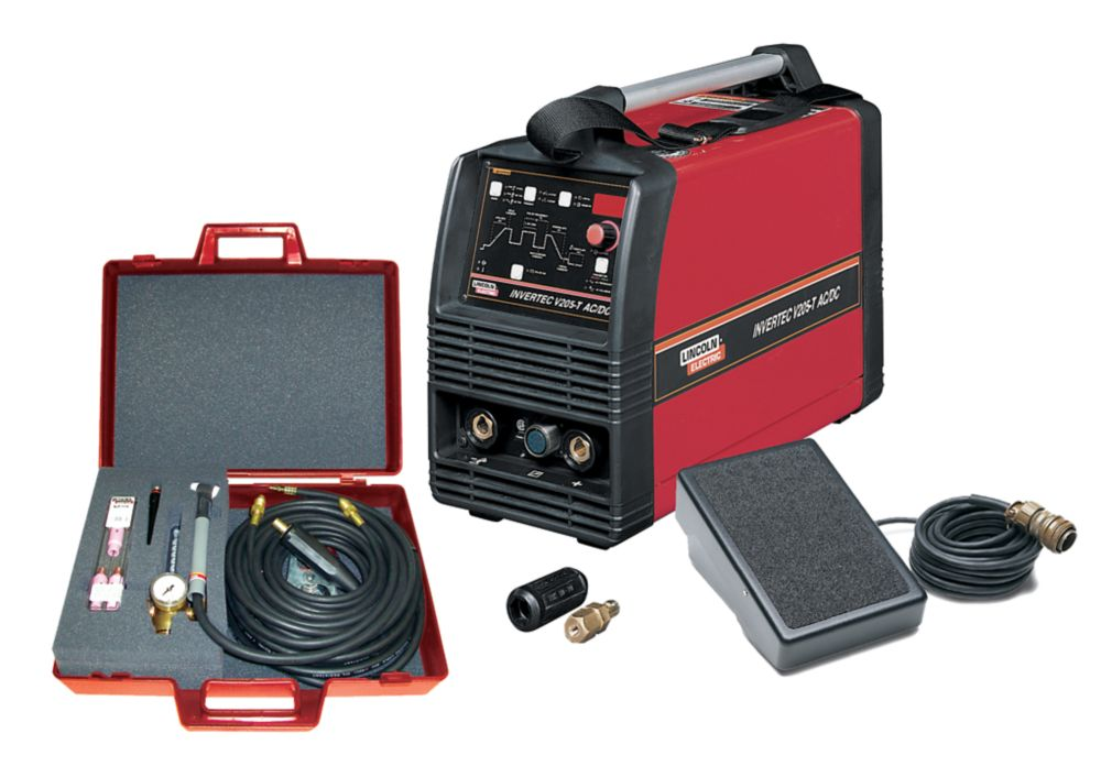 Lincoln Electric Invertec V205-T AC/DC TIG Welder One-Pak ...