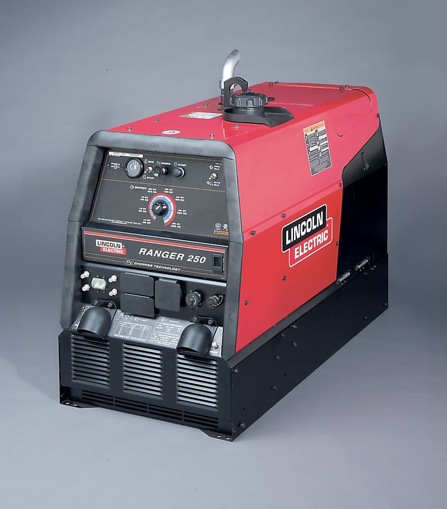 Ranger 250 (Kohler) w/ Electric fuel pump Engine Drive Welder