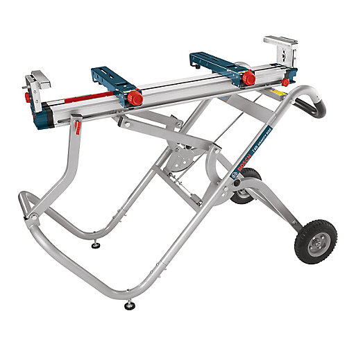 Gravity-Rise Mitre Saw Stand