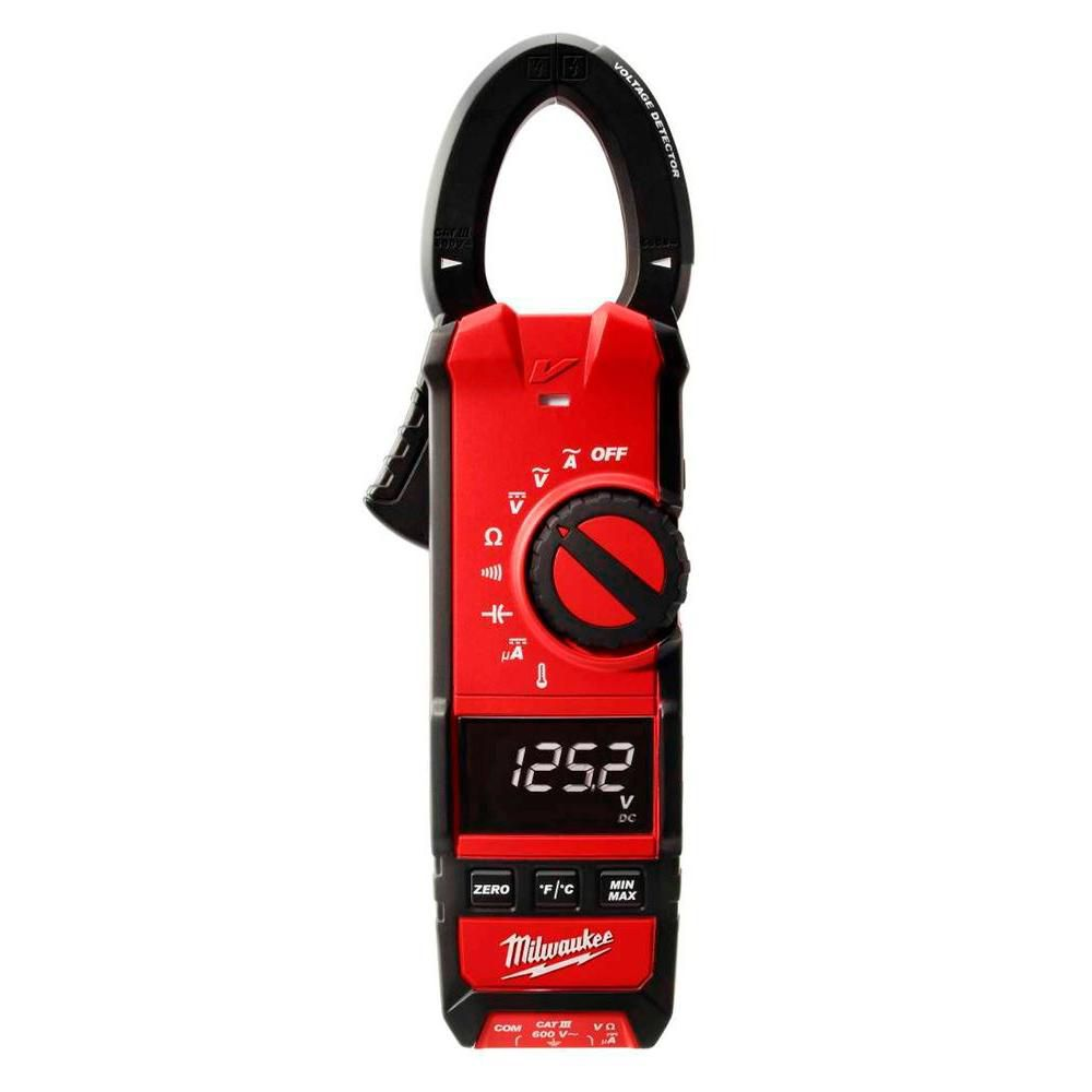 The Best Hvac Clamp Meter : Milwaukee tool ac clamp meter hvac the home depot canada