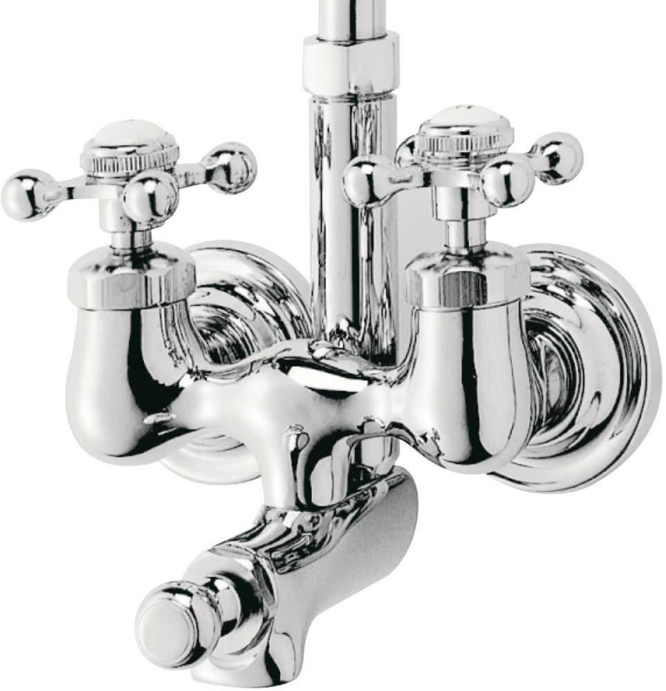 Bath/Shower Faucet in Chrome