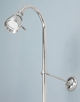 Foremost International Shower Riser and Showerhead in Chrome | The ...