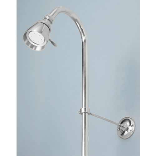 Foremost Shower Riser and Showerhead in Chrome