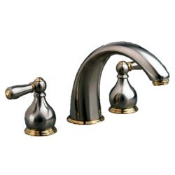 American Standard Satin/brass Williamsburg Tub Filler
