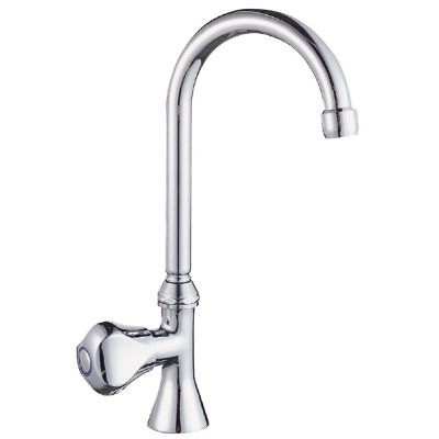 Single Handle Cold Water Faucet, Chrome Finish