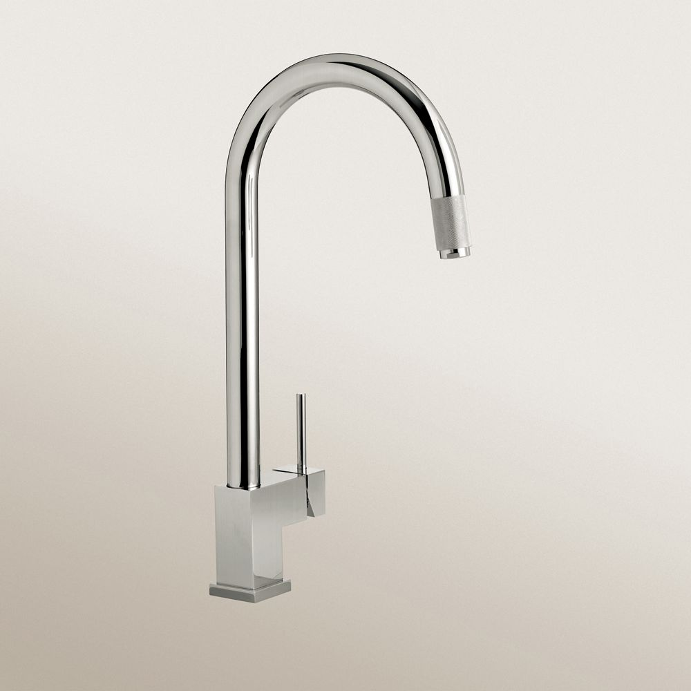 Single Lever, Pull-Down, Kitchen Faucet, Chrome