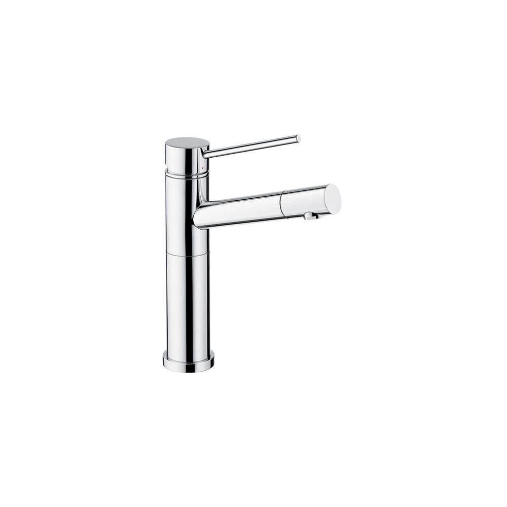 Single Lever, Solid Spout Bar Faucet, Chrome