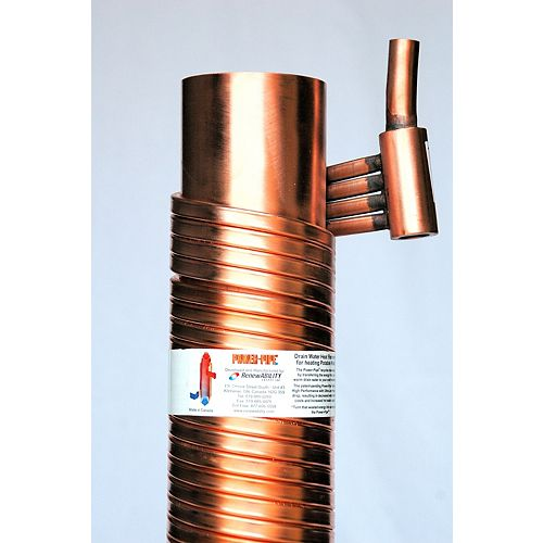 Power-Pipe R4-60 Drain Water Heat Recovery Unit