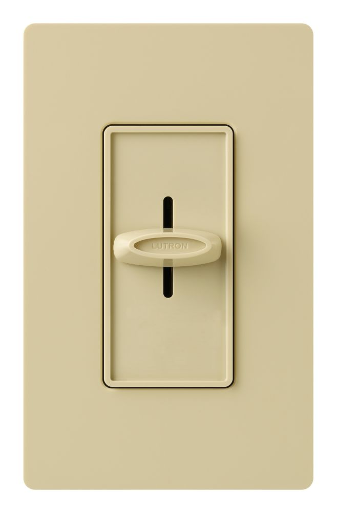 Skylark 600w Slide-Off Dimmer in Ivory