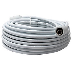OMEGA Rg6 Cable With Connectors -15M  White