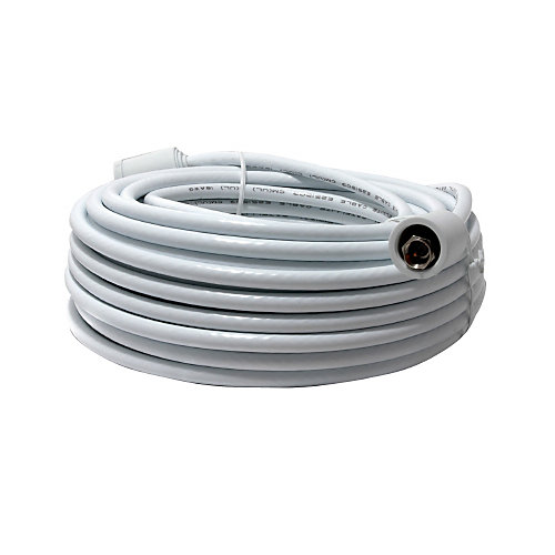 Rg6 Cable With Connectors -15M  White