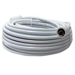 OMEGA Câble coaxial RG6 - 15 mètres - blanc