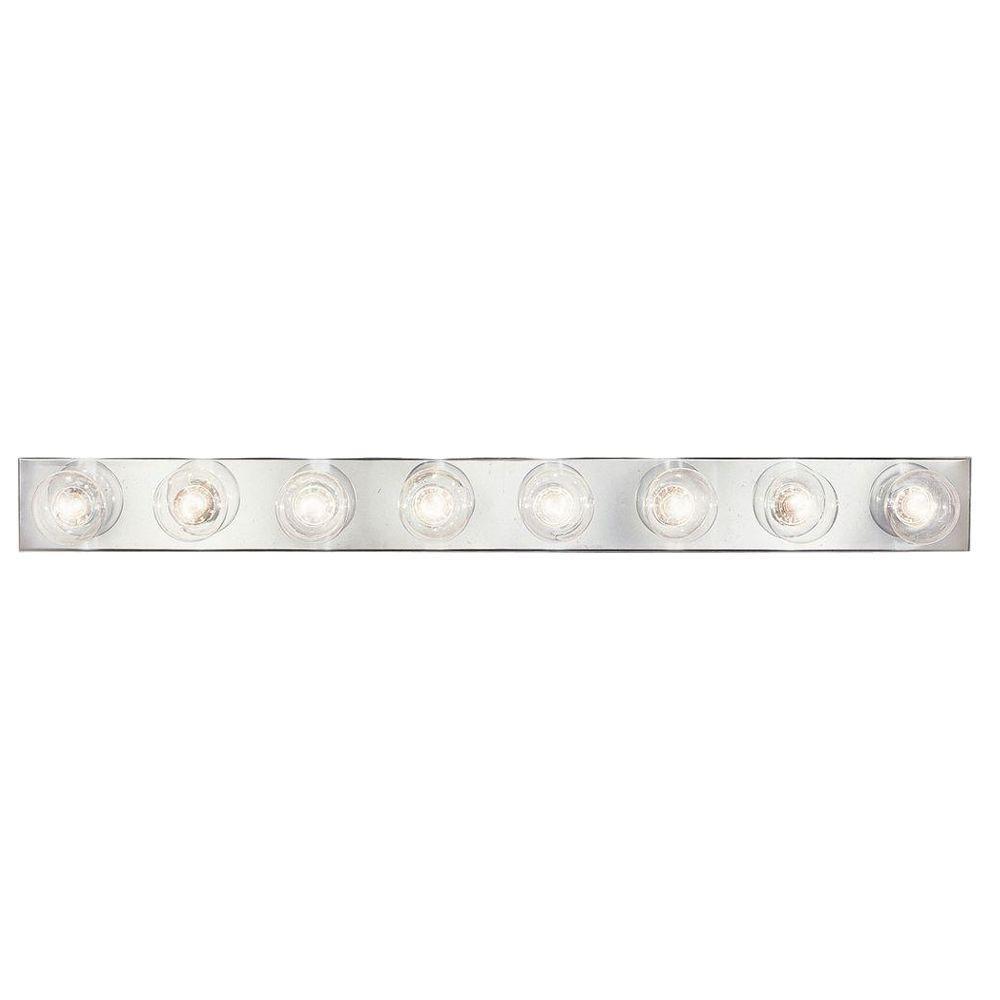 Broadway Collection Chrome 8-light Wall Bracket