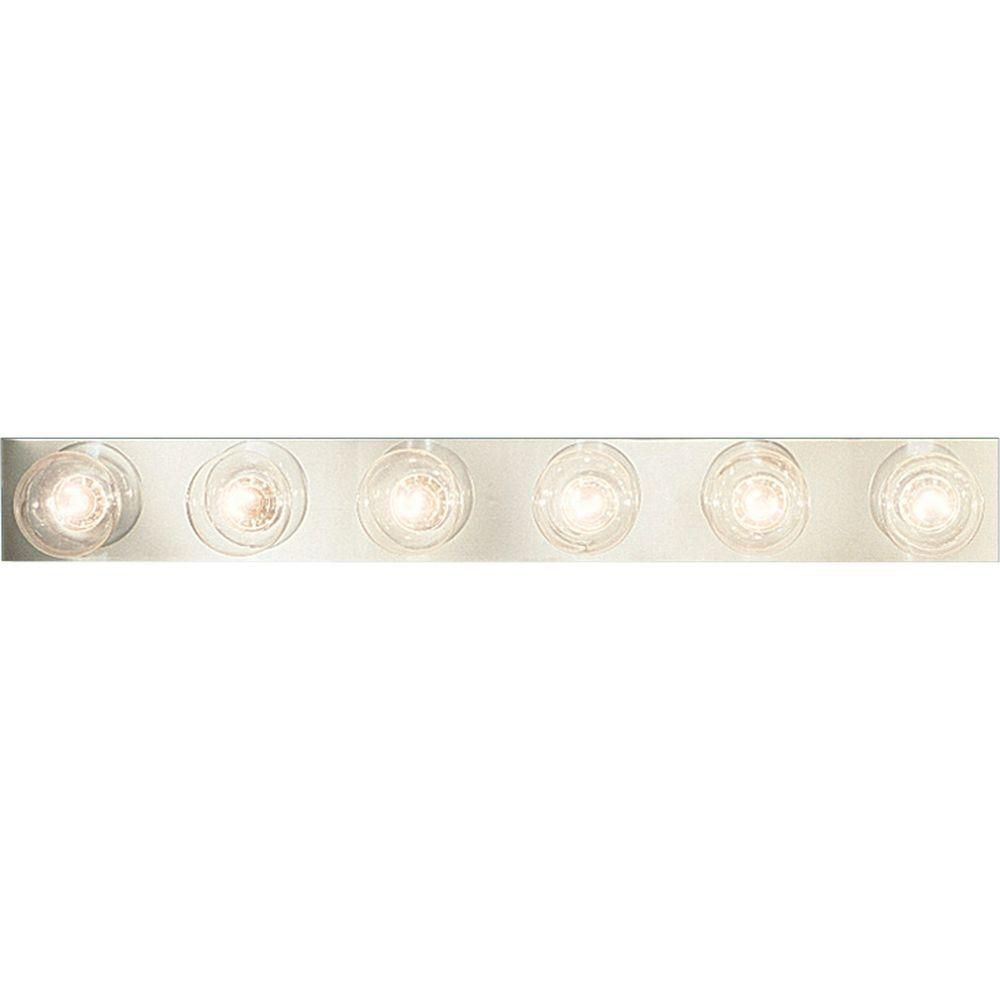 Broadway Collection Chrome 6-light Wall Bracket