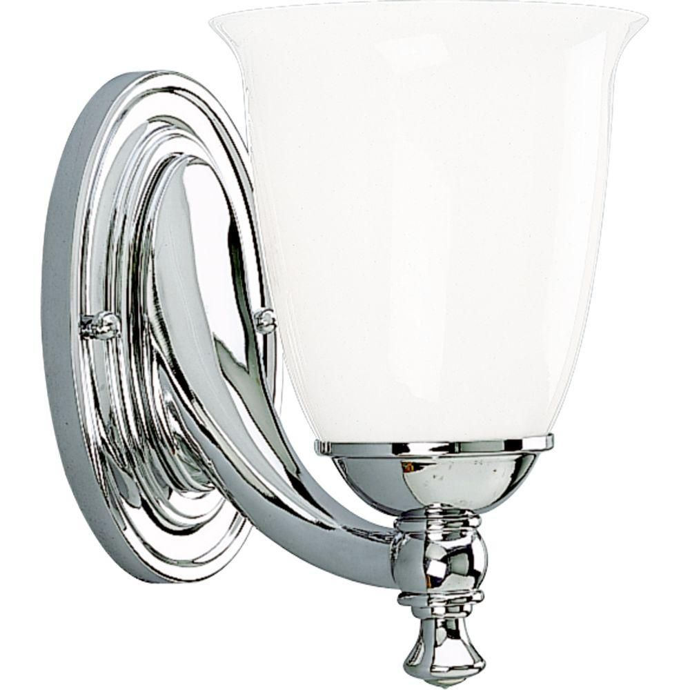 Victorian Collection Chrome 1-light Wall Bracket
