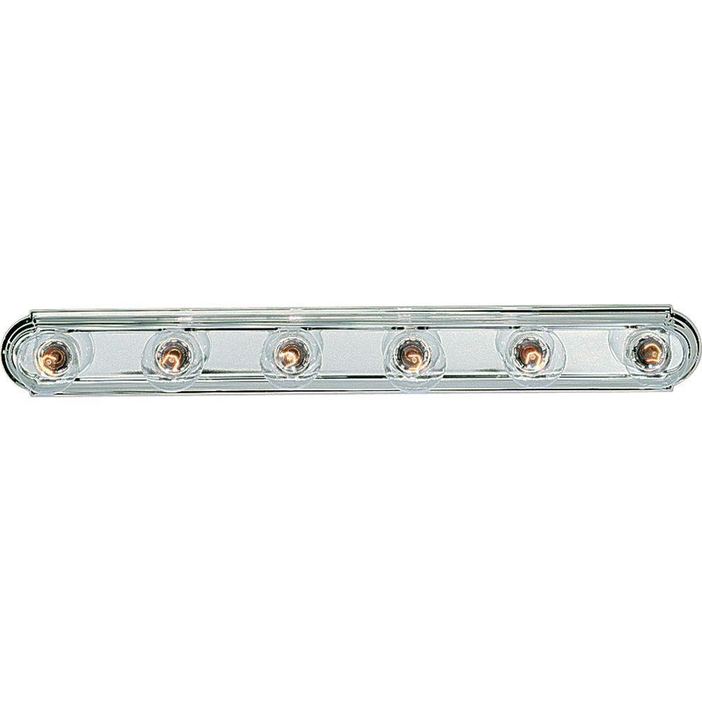 Chrome 6-light Wall Bracket