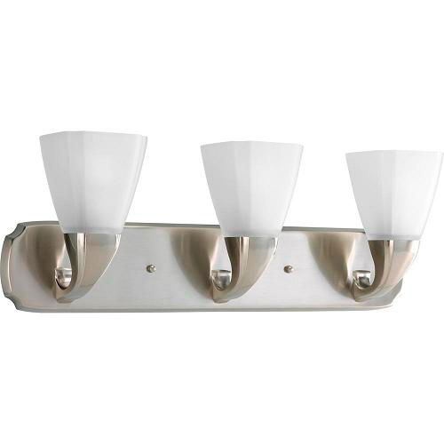 Addison Collection Brushed Nickel 3-light Wall Bracket