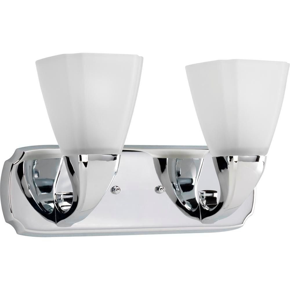 Addison Collection Chrome 2-light Wall Bracket