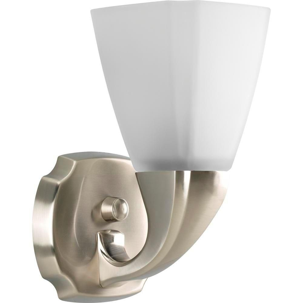 Addison Collection Brushed Nickel 1-light Wall Bracket