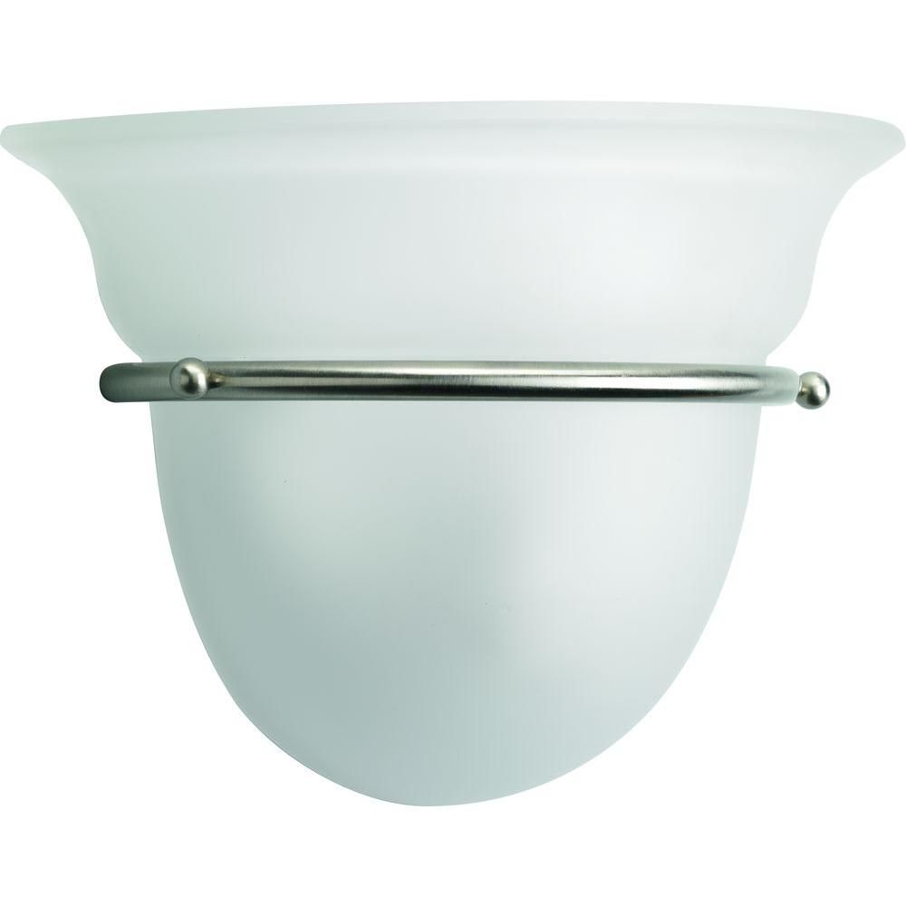 Torino Collection Brushed Nickel 1-light Wall Sconce