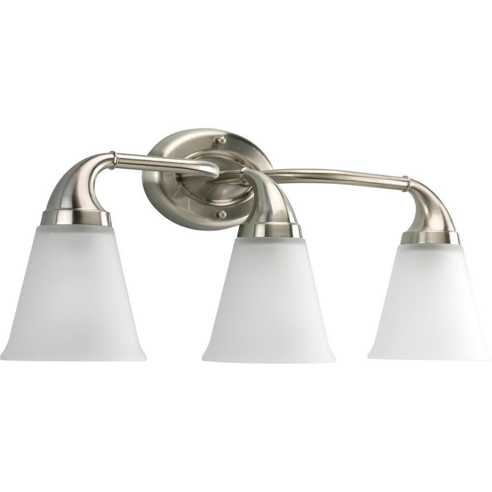 Lahara Collection Brushed Nickel 3-light Wall Bracket 7.85247E 11 in Canada