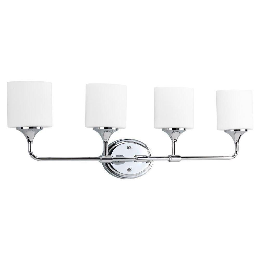 Lynzie Collection Chrome 4-light Wall Bracket 7.85247E 11 in Canada