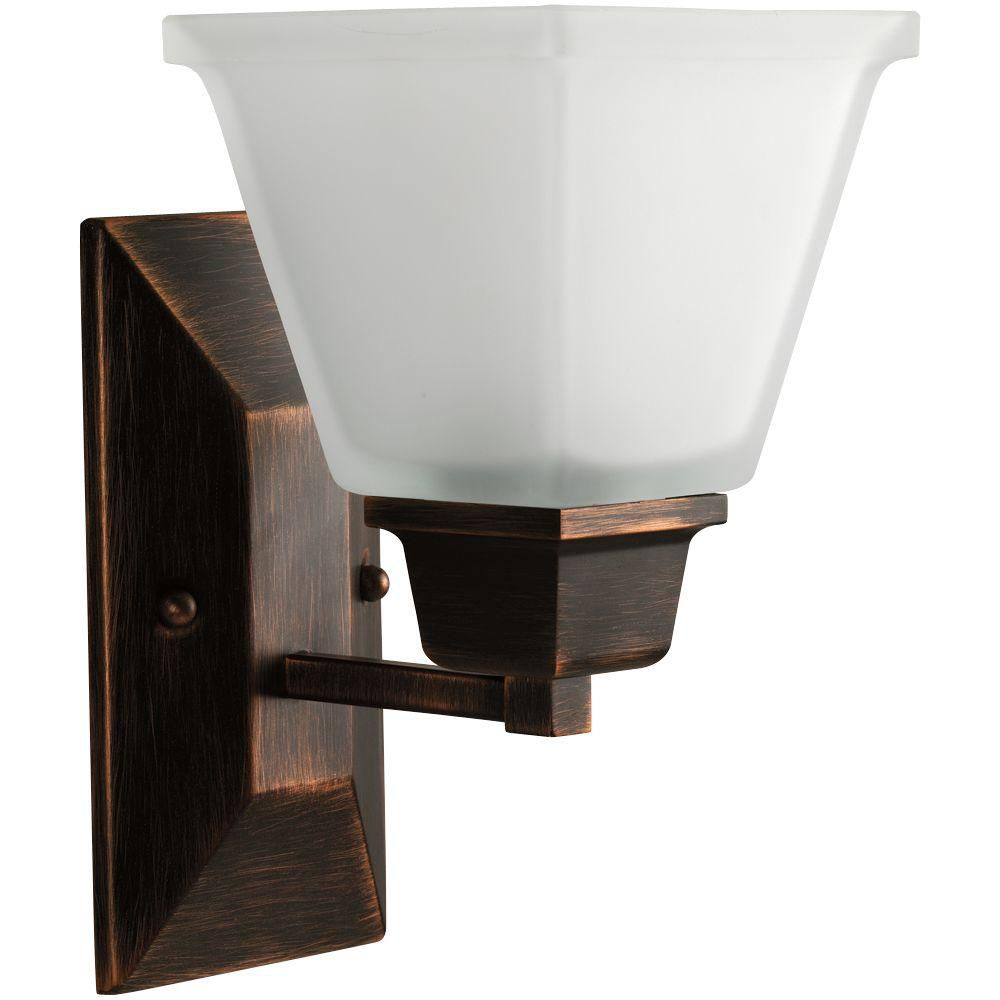 North Park Collection Venetian Bronze 1-light Wall Bracket 7.85247E 11 Canada Discount